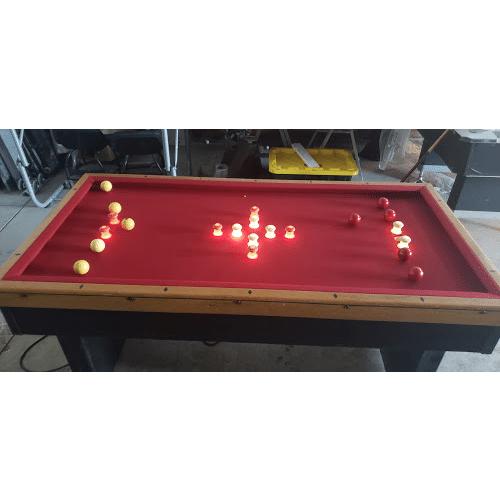 United Jumbo Club Bumper Pool Table