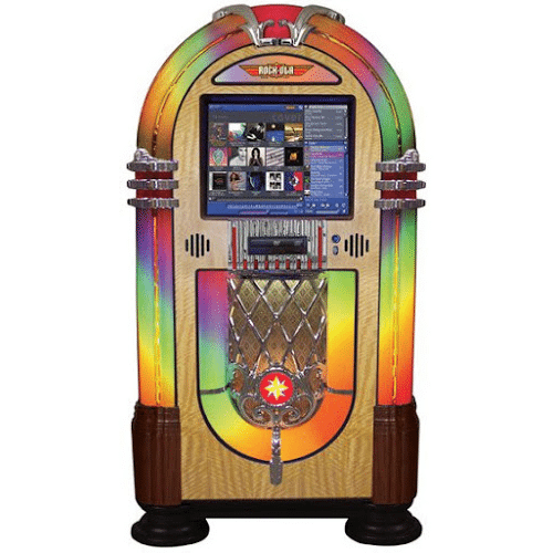 "bubbler 19"" touchscreen jukebox"