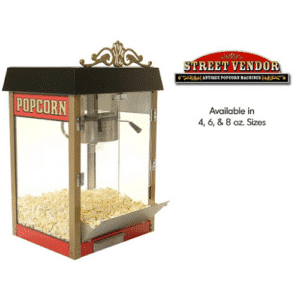 Street Vendor Popcorn Machine