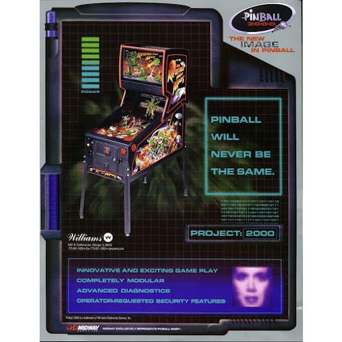 Revenge from Mars Pinball