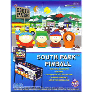 South Park Pinball by SEGA