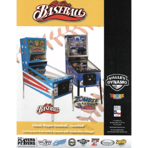 All Star Baseball Zombie League Pinball