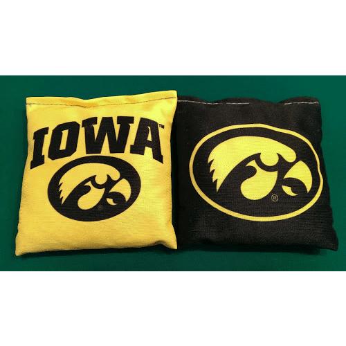 University of Iowa Cornhole Bags