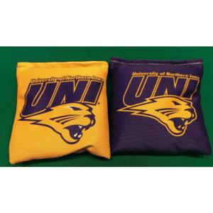 University of Northern Iowa Cornhole Bags