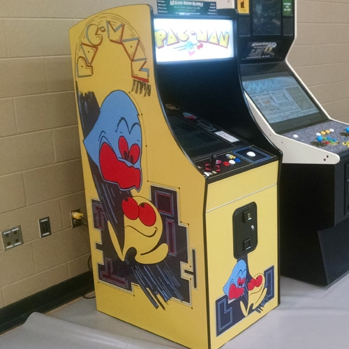 pac-man midway style